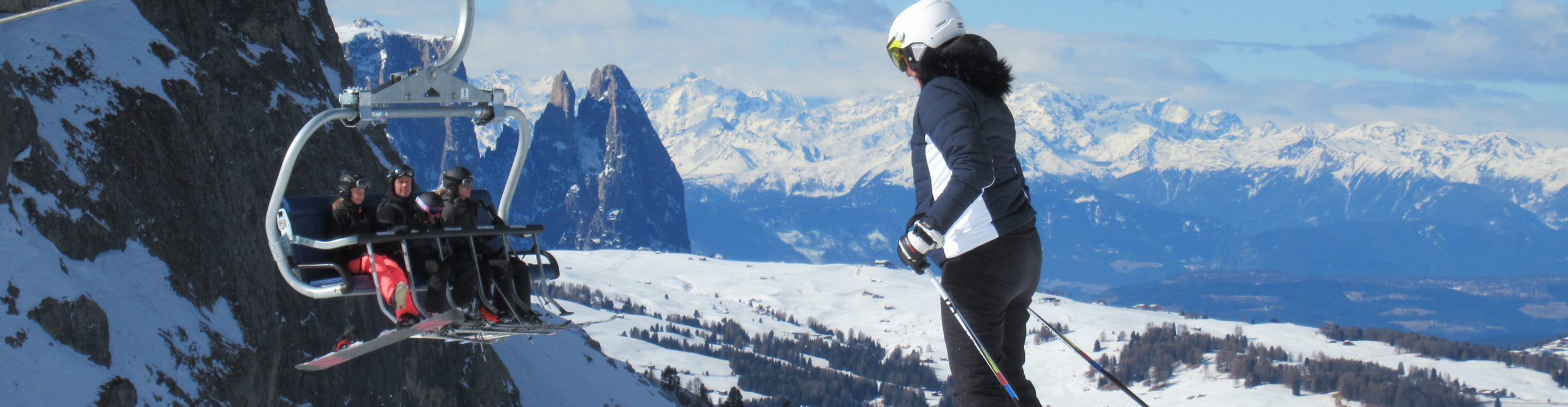 SÜDTIROL – DOLOMITI SUPERSKI – Verlängertes Skiwochenende- 4 Skitage – 3 Skigebiete