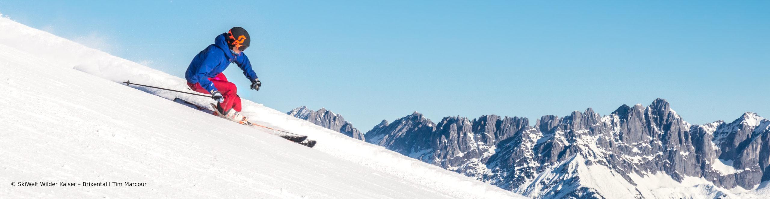 SCHEFFAU – SKIWELT WILDER KAISER –  SchneeSpaßTag in eines der größten Skigebiete Österreichs