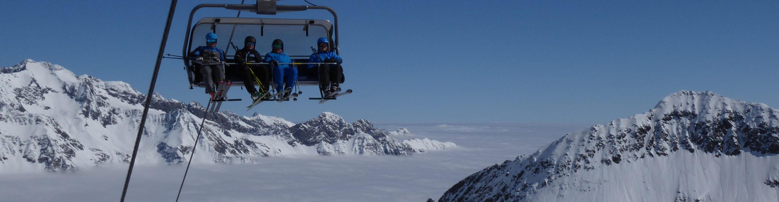 STUBAIER GLETSCHER – Gletscher- Skiwochenende – mit absoluter Schneegarantie – ab Donnerstag Nachmittag