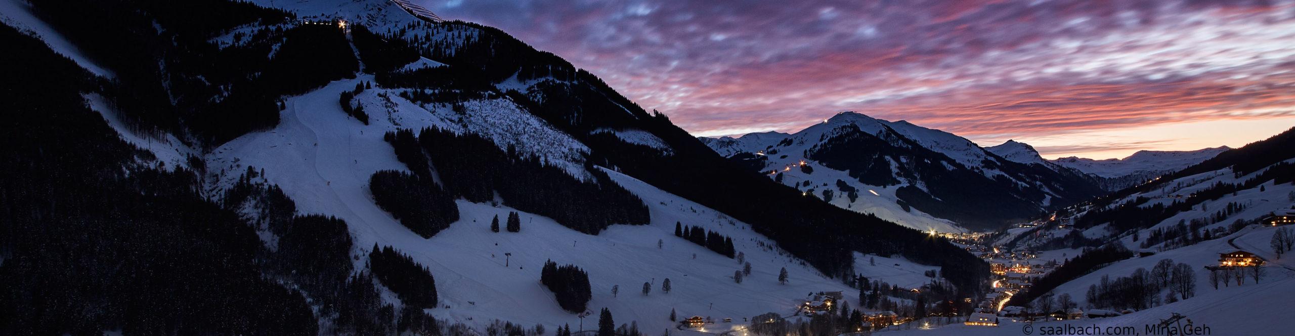 SAALBACH HINTERGLEMM – Skiwochenende nur Schritte vom Lift mit 2 vollen Skitagen