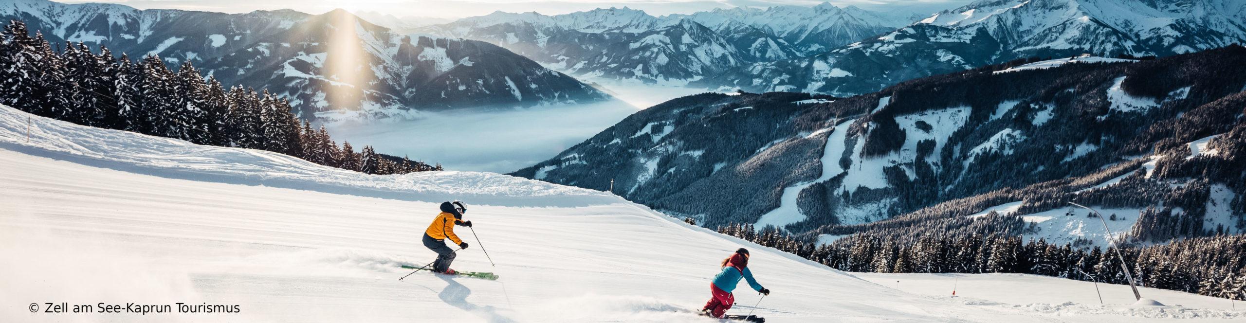 KAPRUN – ZELL AM SEE – Skiwochenende mit Schneegarantie – 3 Sterne – Schritte von der Gondel – Wellness über den Wolken mit drei Skitagen