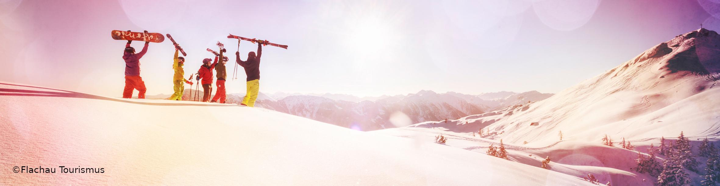 FLACHAU WINKL- Skiwochenende – Berghütte direkt auf der Piste