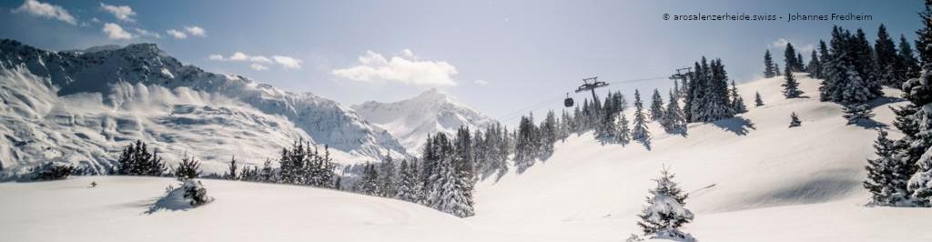 AROSA – LENZERHEIDE – SCHWEIZ – Weltcuport zum Sparpreis – 3 Skitage 2 Übernachtungen inkl. Skipass