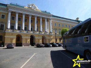 Bus in Sankt Petersburg